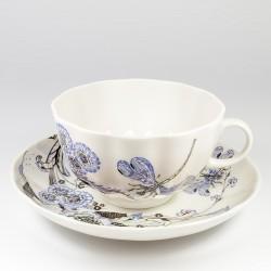 Чашка с блюдцем. Тюльпан. Шепот стрекозы.
