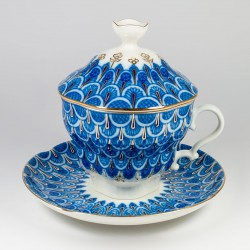Cup&Saucer &Cap. Gift 2. Scale.