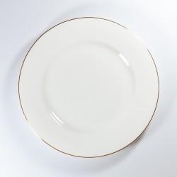 Dish. Standard. Golden ribbon Ø200 mm