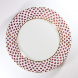Тарелка. Европейская. Сетка-блюз Ø265 мм