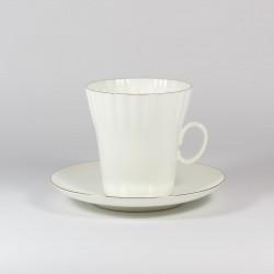 Чашка с блюдцем. Одуванчик. Золотой кантик.