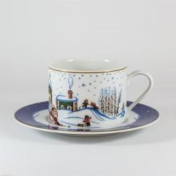 Csésze és alj. Pólus. Hó tündérmese.