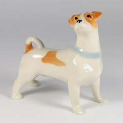 Szobrocska. Jack Russell Terrier.