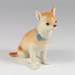 Sculpture. Jack Russell Terrier.