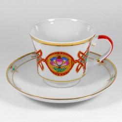 Чашка с блюдцем. Банкетная. Византия.