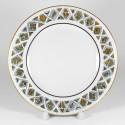 Krožnik. Evropska-2. Ruski Art Nouveau. Ø180 mm