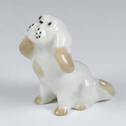Okrasna figurica. Bolognese pes.