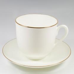 Чашка с блюдцем. Ландыш. Золотой кантик.